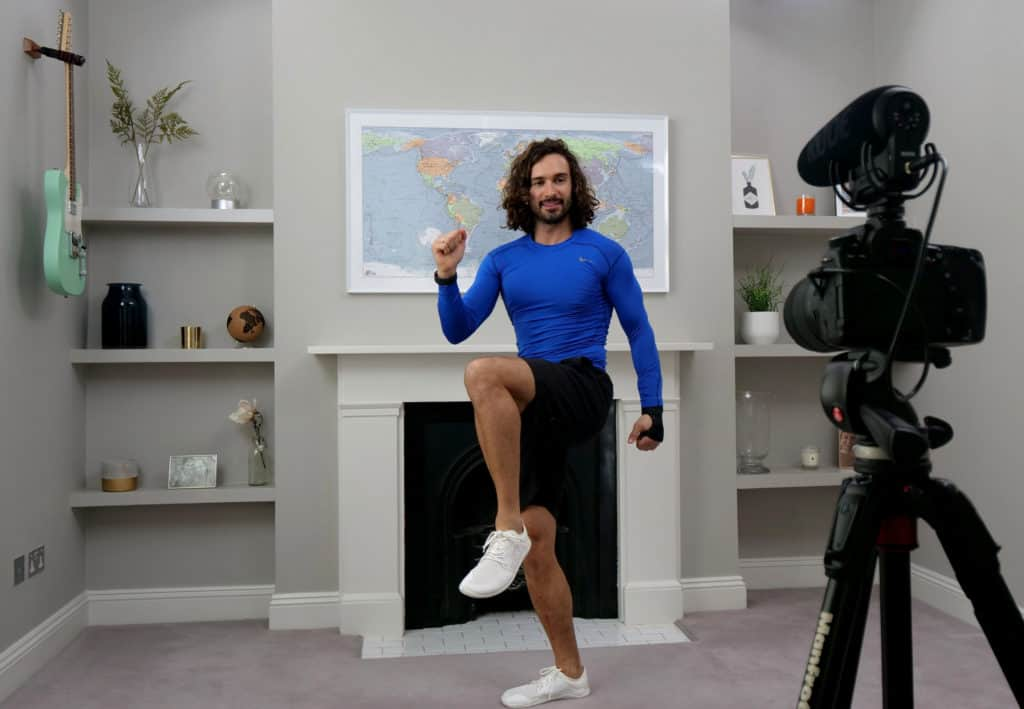 790,000 households participated in Joe Wicks Live PE Lessons!