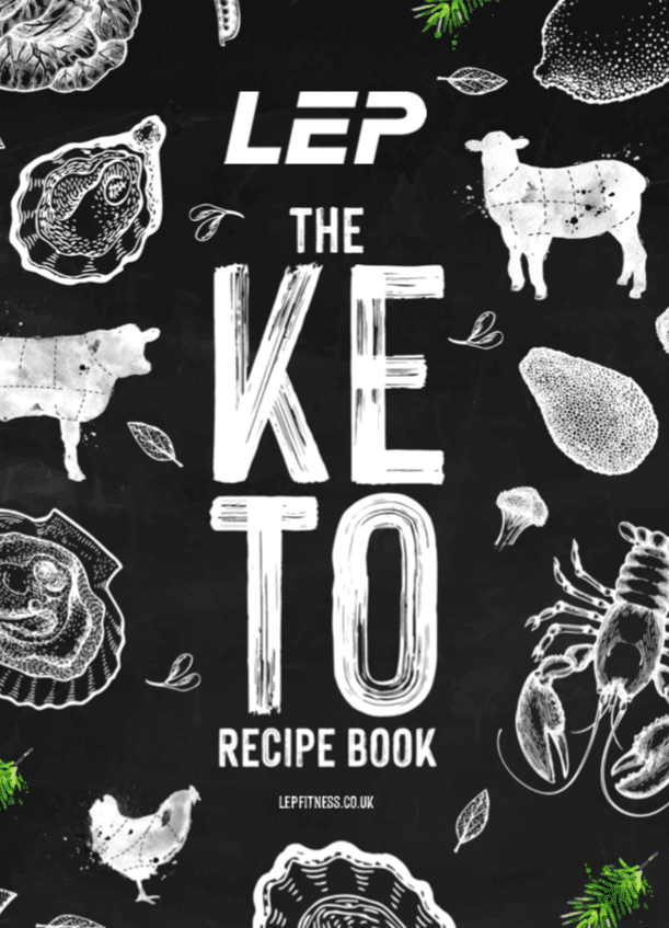 Keto recipe book by LEP Fitness