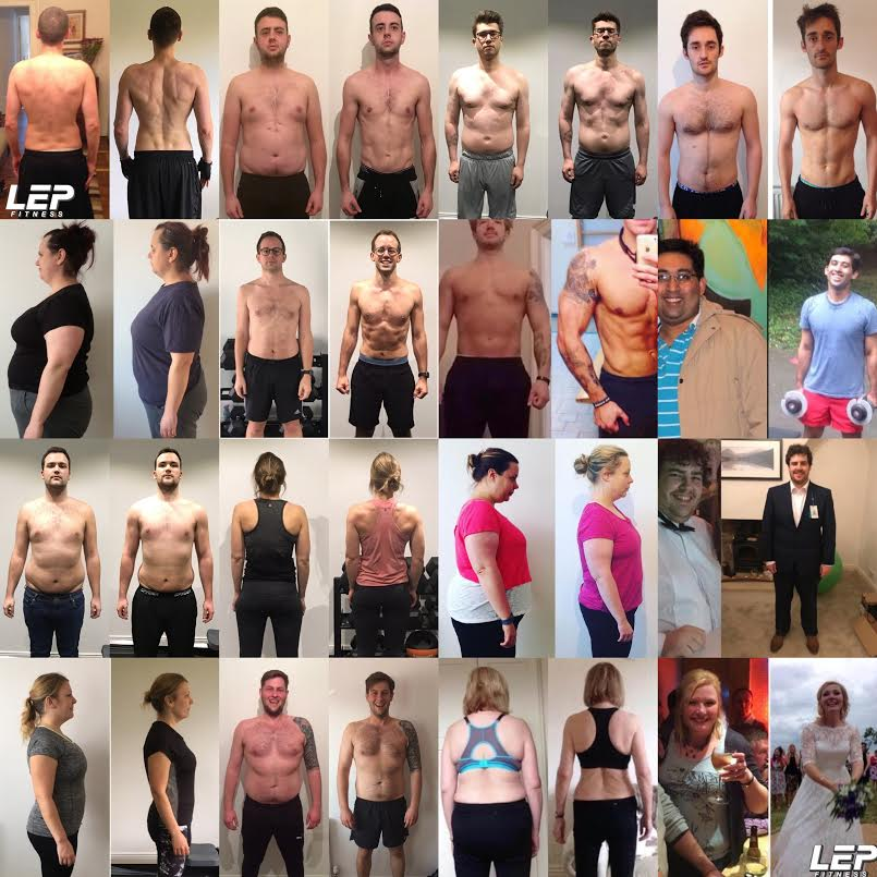 Body transformation Sheffield | LEP Fitness