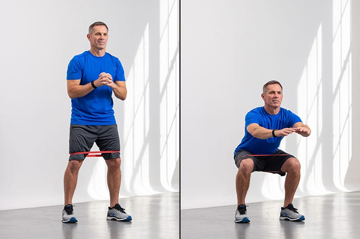 What are banded squats? LEP Fitness
