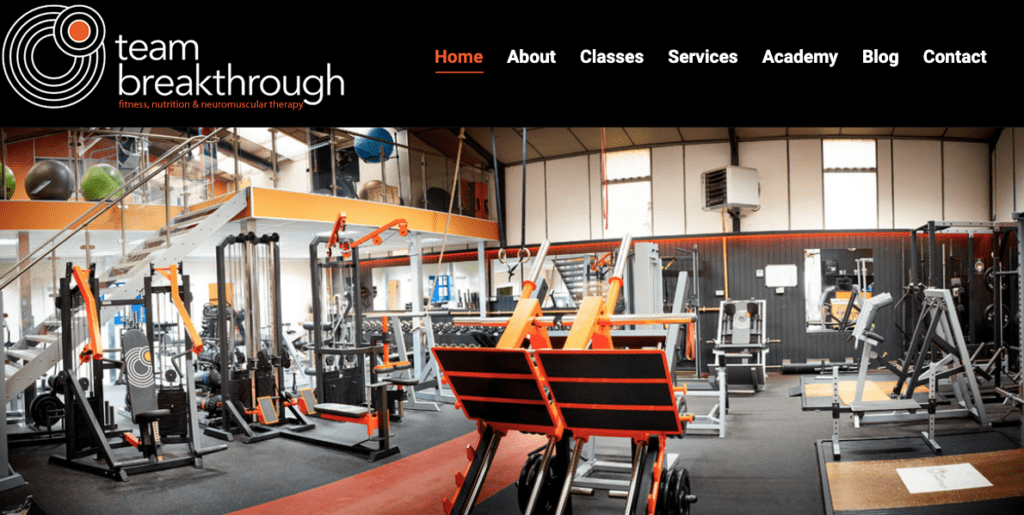 Team Breakthrough personal trainer