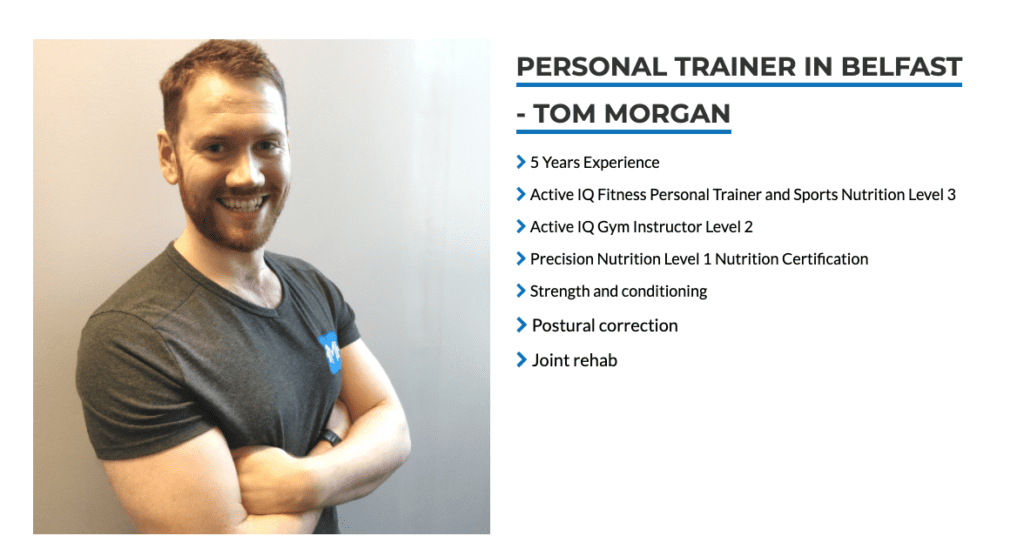Tom Morgan Fitness personal trainer
