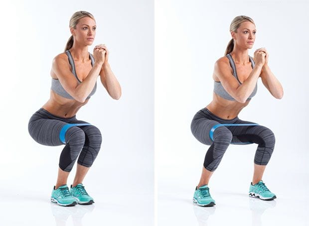 Banded Squats - Why You Need To Add This Amazing Leg Exercise Into Your Routine...
