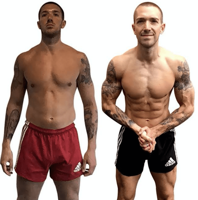 Shredded Abs : How I went from 20% body fat to 8% in 60 days