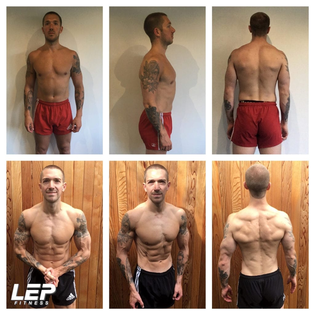 LEP Fitness - body transformations