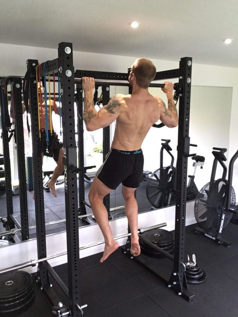 Getting shredded abs with weight training