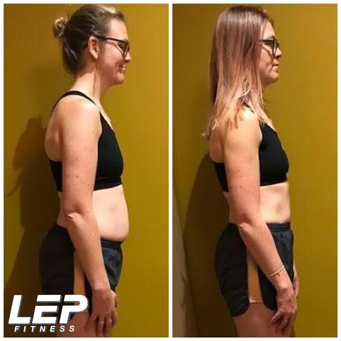 LEP Fitness body transformation results