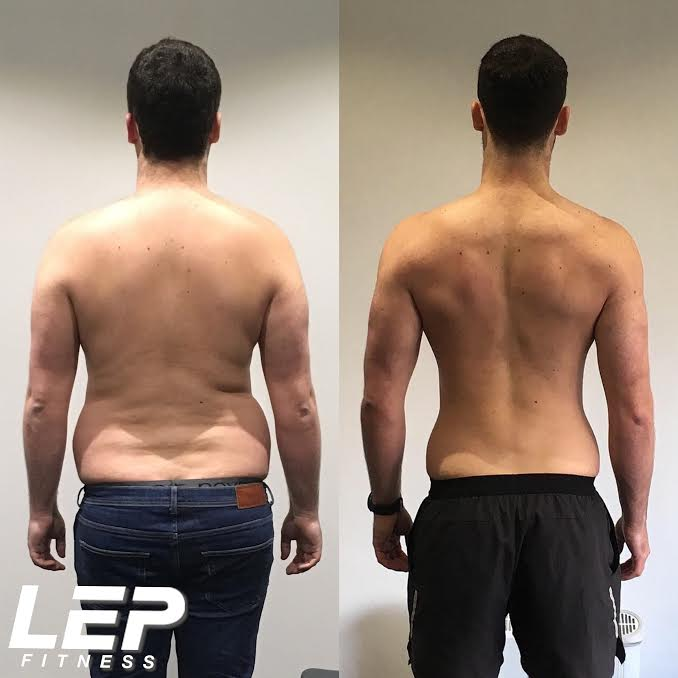 LEP Fitness review by Jan who lost 5 stone training in a private gym based in Sheffield