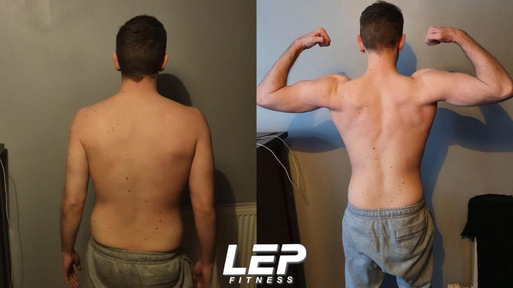Jamie loses fat with LEP Fitness