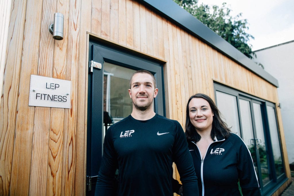 LEP Fitness personal training and sports massage - a private facility in Sheffield