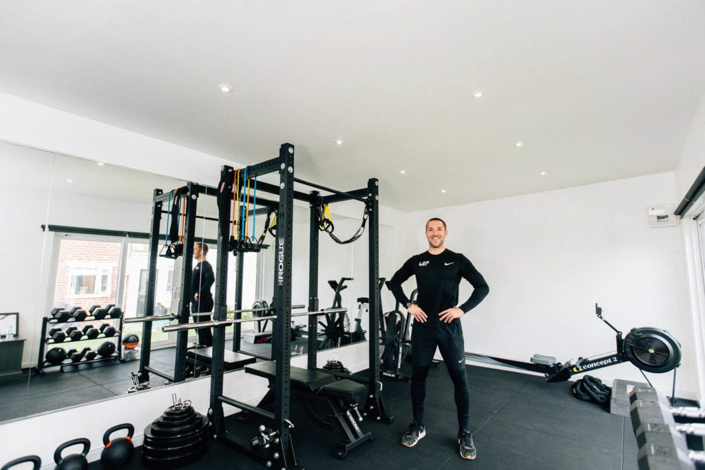 Nick Screeton personal trainer and founder of LEP Fitness