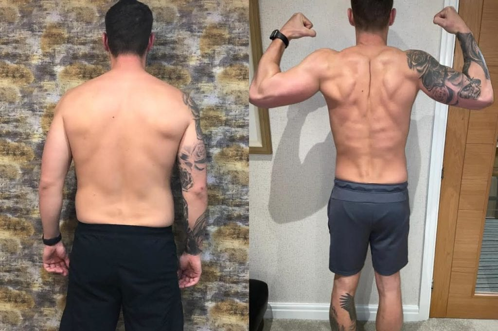 Body transformation expert Nick Screeton - founder of LEP Fitness and LEP Life
