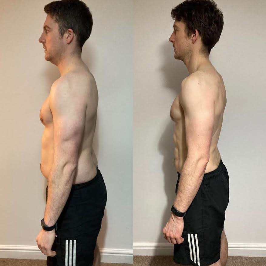 before and after pic LEP Fitness
