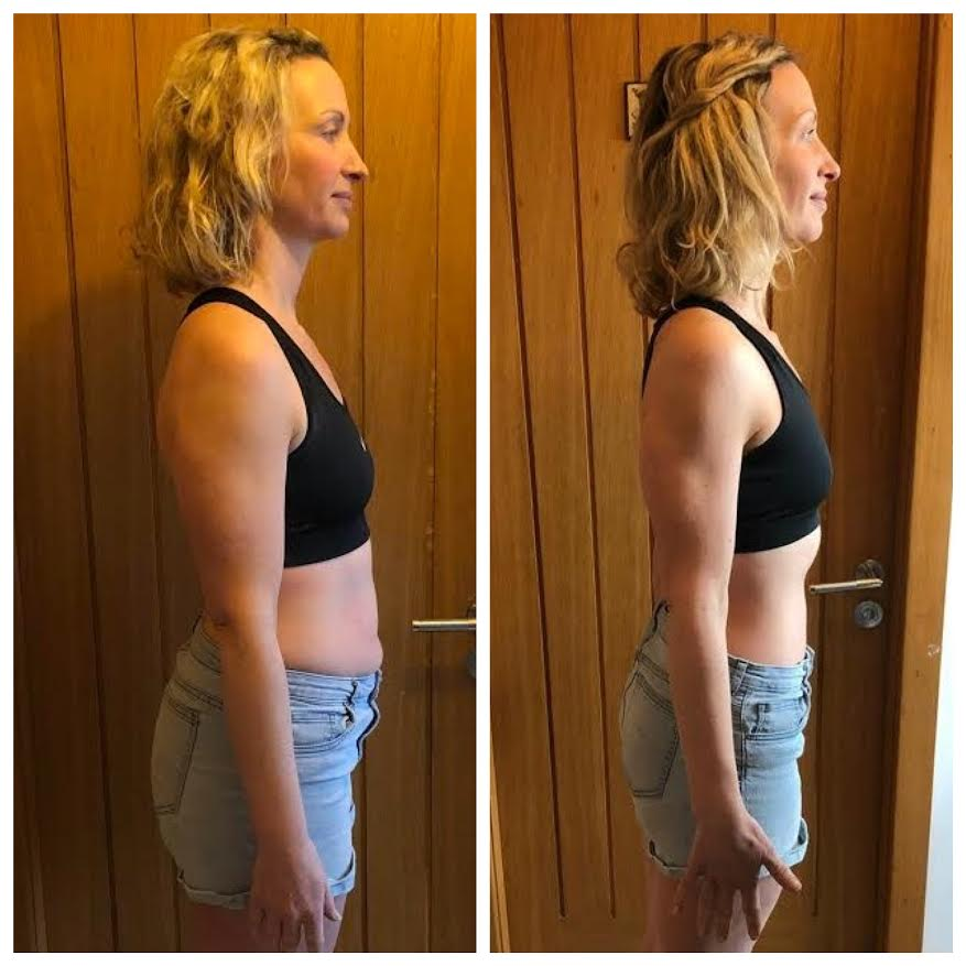 Jo training with LEP Fitness