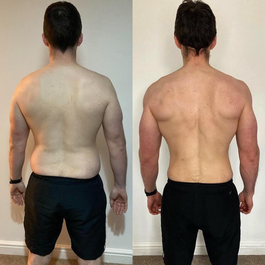 LEP Fitness body transformation