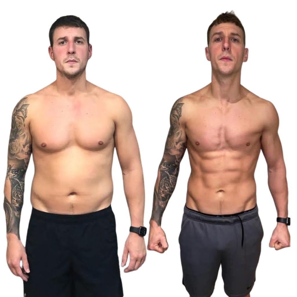 Mike Drops 26 lbs in 8 Weeks